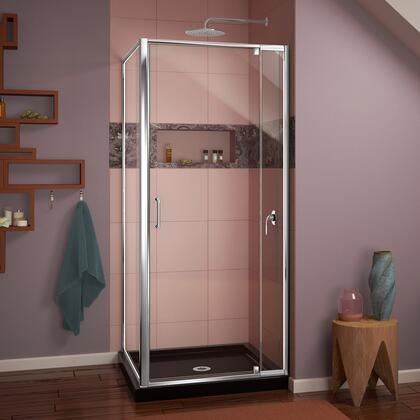 DreamLine Flex Return Panel w Shower Base 88