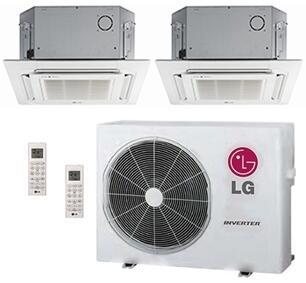 LG 704119 Dual-Zone Mini Split Air Conditioners