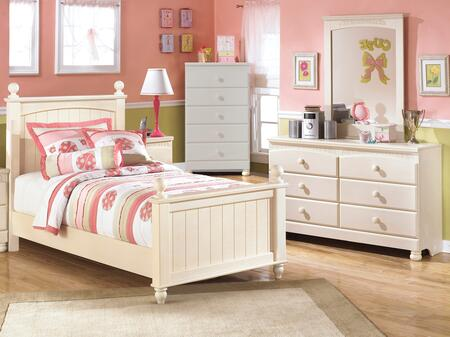 Milo Italia BR303TPSBDM Burton Twin Bedroom Sets