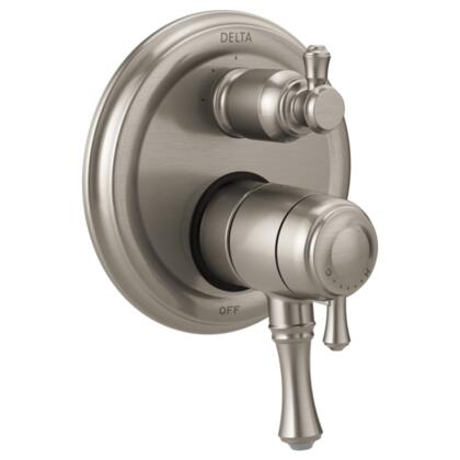 Cassidy T27897-SS Delta Cassidy: Traditional Monitor 17 Series Valve Trim with 3-Setting Integrated Diverter in Stainless