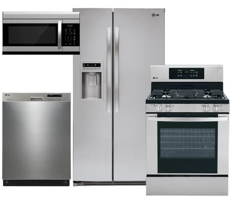 LG LSC27925ST4PCKIT2 Kitchen Appliance Packages