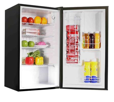 Avanti BCA3191B  Freestanding Compact Refrigerator with 1.7 cu. ft. Capacity, 2 Wire ShelvesField Reversible Doors