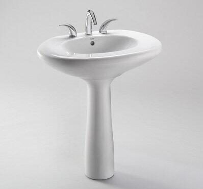 Toto LT660.8G#12 8in Center Pedestal Lavatory
