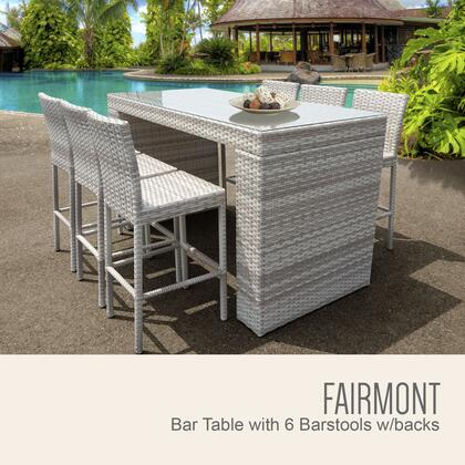 FAIRMONT BARTABLE WITHBACK 6