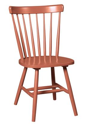 """Signature Design by Ashley Bantilly D389-0X 20"""" Dining Room Chair with Spindle Back Design, Stretchers and Scoop Seat in"""