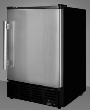Summit BIM24  Freestanding Ice Maker with 24 lb. Daily Ice Production, 10 lb. Ice Storage, in Stainless Steel
