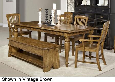 Broyhill 4809DT2AC2SCB New Vintage Dining Room Sets