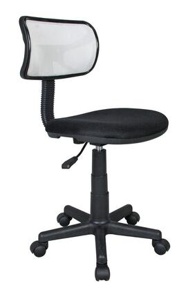 "RTA Products RTAM101WHT 17""  Office Chair"