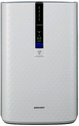 Sharp KC8x0U Sharp Plasmacluster  Air Purifier with Humidifying Function, True HEPA Filter, Quiet Mode, Filter Change Light, and Three Fan Speed, in White