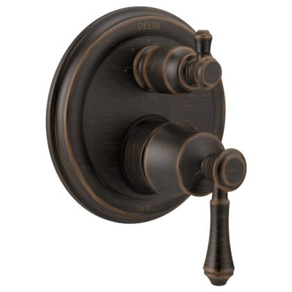 Cassidy T24897-RB Delta Cassidy: Traditional Monitor 14 Series Valve Trim with 3-Setting Integrated Diverter in Venetian Bronze