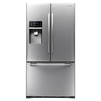 Samsung Appliance RFG296HDRS  French Door Refrigerator with 29 cu. ft. Total Capacity 5 Glass Shelves