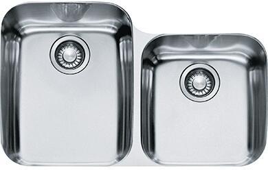 Franke ARX120 Artisan Series Undermount Double Dowl Sink in Stainless Steel