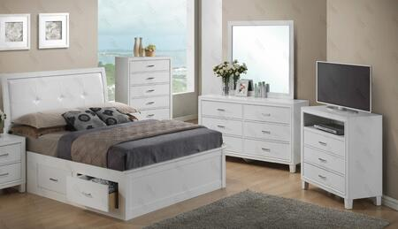 Glory Furniture G1275BKSBDMTV G1275 King Bedroom Sets