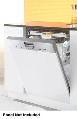 """Miele G5605SC 24"""" Full Console Dishwasher with 6 Wash Programs, 3D Cutlery Tray, 46 dBA Operation,  Built In Water Softener, 16 Place Settings, 46 dBA Quiet Rating, Energy Star in Stainless Steel"""