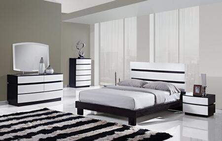 Global Furniture USA CATALINAQB4GRP Catalina Queen Bedroom S