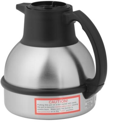 Bunn-O-Matic 36029.000x Thermal Carafe Portable Server With 62 oz. Capacity, Unbreakable Stainless Steel, Vacuum Insulation, in Stainless Steel