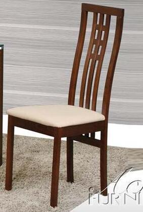 Acme Furniture 12647 Hansel Series Transitional Microfiber Dining Room Chair