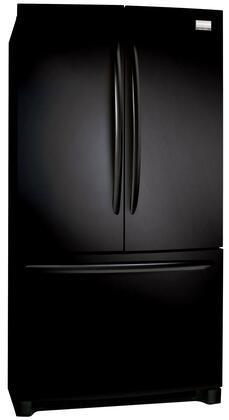 Frigidaire FGHG2344M Gallery Series 22.6 Cu. Ft. Capacity Bottom Mount Refrigerator, SpaceWise Organization System, Best-in-Class Ice and Water Filtration, Energy Star Rated,