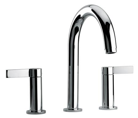 Jewel Faucets 14102XX Two Lever Handle Roman Tub Faucet With Classic Spout