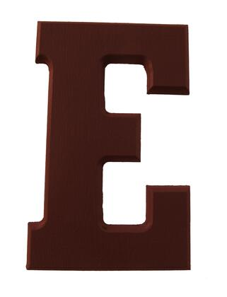 FireSkape XX6251005 Decorative Solid Wood Routed Letter 6.25 Inches Tall in the Brown Dark Truffle Finish