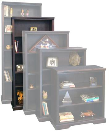 Legends Furniture BW6872DNC Brentwood Series Wood 5 Shelves Bookcase