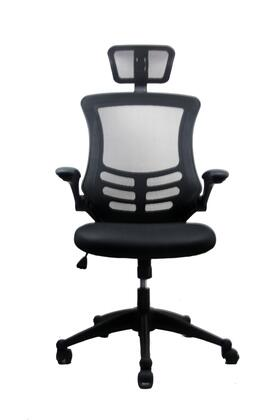 RTA Products RTA-80X5- Techni Mobili Executive High Back Chair w/ Headrest in
