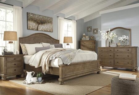 Milo Italia BR7534PCKP6DDLM3DNKIT1 Goodwin King Bedroom Sets
