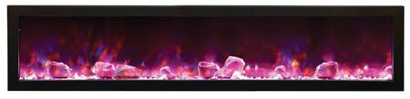 Amantii BI88SLIMOD Panorama Series Wall Mountable Electric Fireplace
