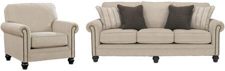 Milo Italia MI4861SCLINE Elisabeth Living Room Sets