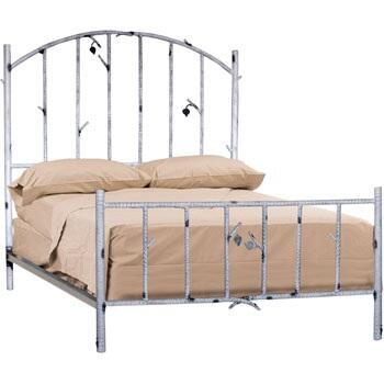 Stone County Ironworks 958059  Queen Size HB & Frame Bed