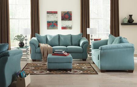 Milo Italia MI7909SLOCSKY Tristian Living Room Sets