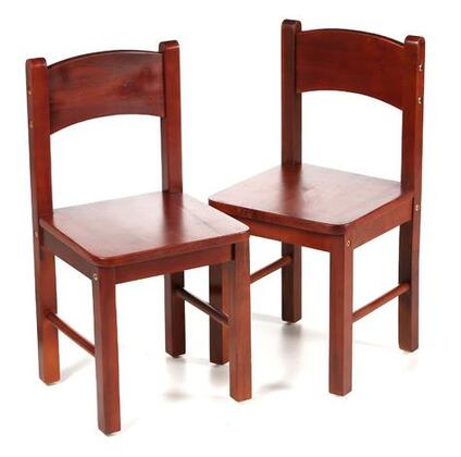 Gift Mark 1408 X Child's Pair Of Solid and Durable Rectangle Chairs in
