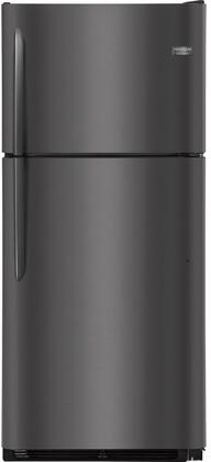 """Frigidaire FGTR2042Tx 30"""" Top Freezer Refrigerator with 20 cu. ft. Capacity and LED Lights, in"""