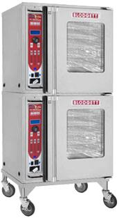 Blodgett HV-50E HydroVection Series Electric Oven with Glass Split Door, Steam and Convection Heating, Oven Cavity Drain and Halogen Lighting, in Stainless Steel Construction: