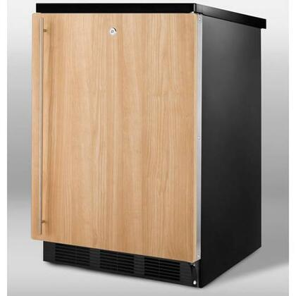Summit SCFF55LBLIF  Counter Depth Freezer with 5 cu. ft. Capacity in Panel Ready