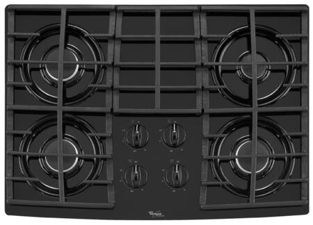 Whirlpool GLT3057RB Gold Series Gas Sealed Burner Style Cooktop