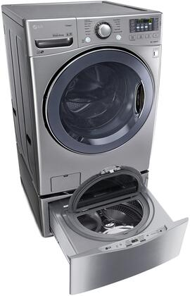 LG LG2PCFL271PEDSSKIT1 Washer and Dryer Combos