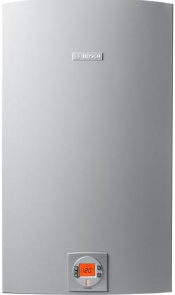 "Bosch Therm C1210ES 18"" X Tankless Water Heater With 225,000 BTU Max Input, Electronic Ignition, Built In Freeze Protection, 150 PSI Max Water Pressure, Condensing, In Grey"