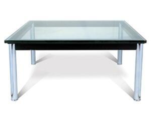 Fine Mod Imports FMI1204CLEAR Modern Table