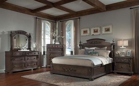 Klaussner 980066DMC2NS Versailles King Bedroom Sets