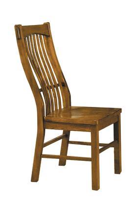 AAmerica LAURO275K Laurelhurst Series Contemporary Not Upholstered Solid Oak Frame Dining Room Chair