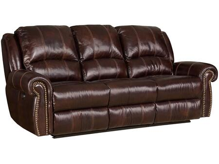 Saddle Brown Power Motion Sofa