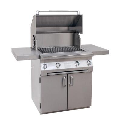 Solaire SOLIRBQ30C  All Refrigerator Grill, in Stainless Steel