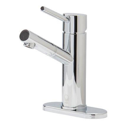"""Vigo VG01009 Noma Single Lever Faucet With Deck Plate, with 7.75"""" Faucet Height, 1.5 GPM Flow Rate, Easy to clean Mineral-resistant Nozzle and Solid Brass Construction"""