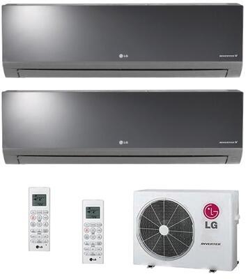 LG 701821 Dual-Zone Mini Split Air Conditioners