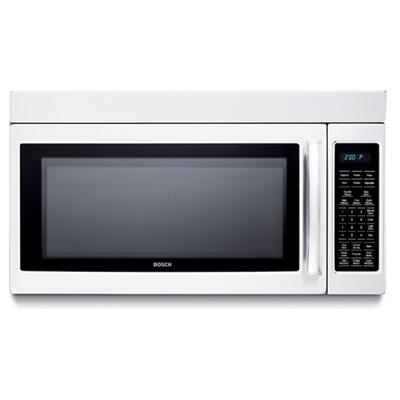 Bosch HMV9302 1.8 cu. ft. Over the Range Microwave Oven with 300 CFM, 1000 Cooking Watts, in White