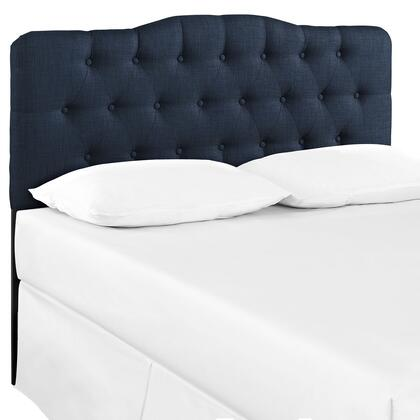 Modway MOD-51XX-NAV Annabel Fabric Headboard in Navy