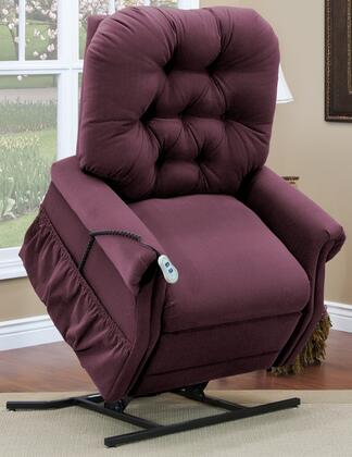 MedLift 3555AABE Contemporary Fabric Wood Frame  Recliners