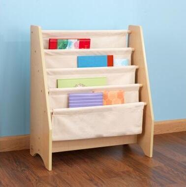 KidKraft 14221 Childrens Wood 4 Shelves Bookcase