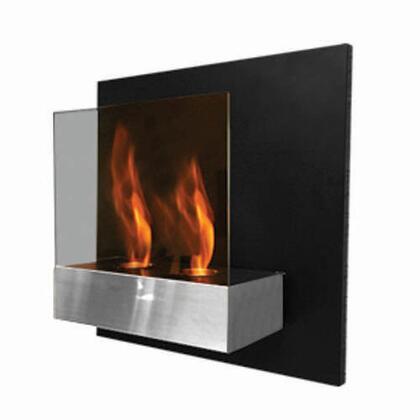 Bio Flame PUR2FCWM Pure Series Wall Mountable Vent Free Bioethanol Fireplace